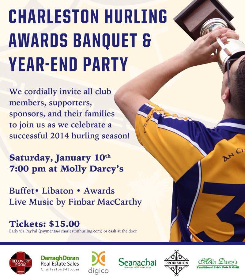 Hurling Awards Party