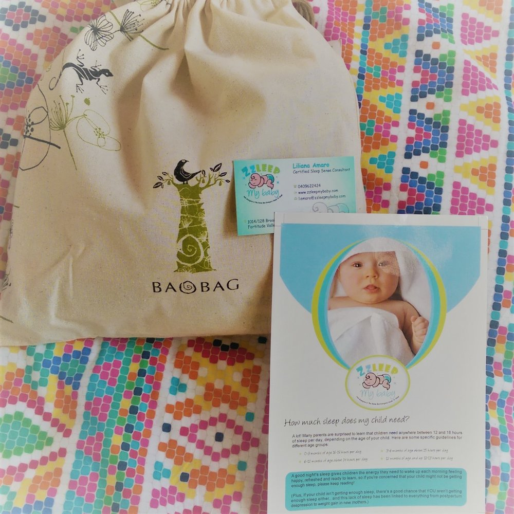 Beautiful bag full of goodies for your new baby