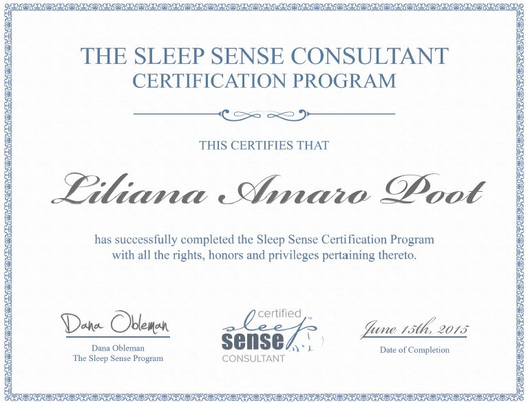 Sleep Sense-Certification