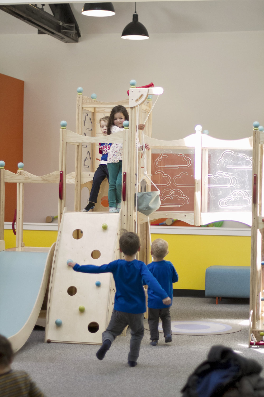 An indoor play space for kids in Highland Park, IL