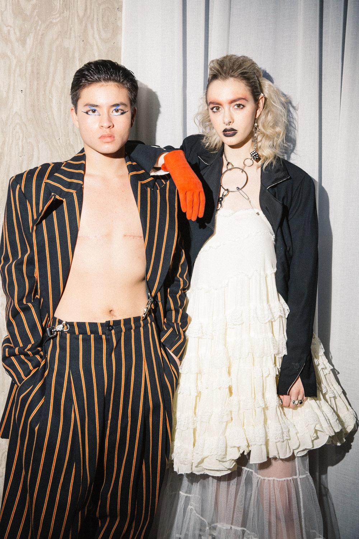 Chella Man and Juliette Geilfuss