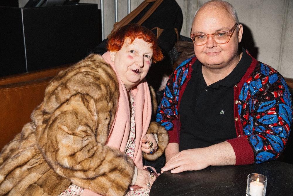 Lynn Yaeger and Mickey Boardman