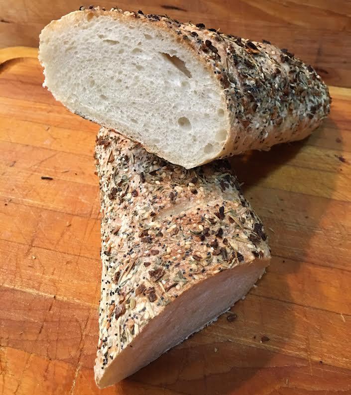 ITALIAN SEASONED RUSTIC BREAD