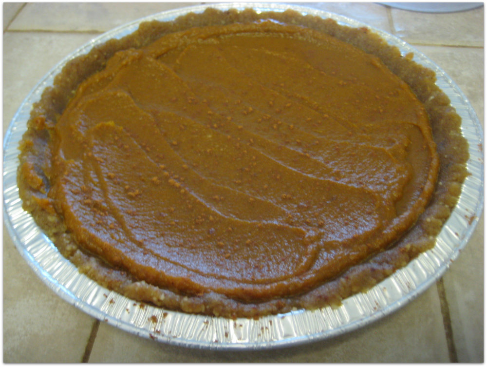 Raw Pumpkin Pie-2