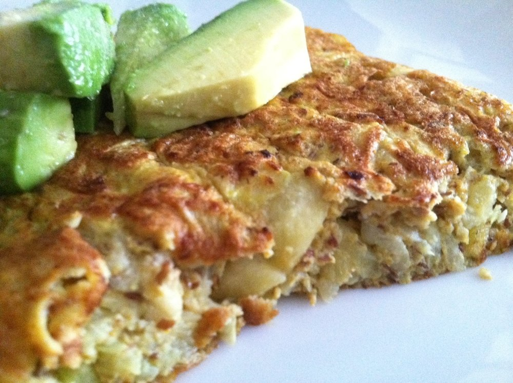 Zucchini-Omelettecake