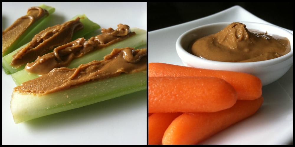 carrots-celery-almond-butter
