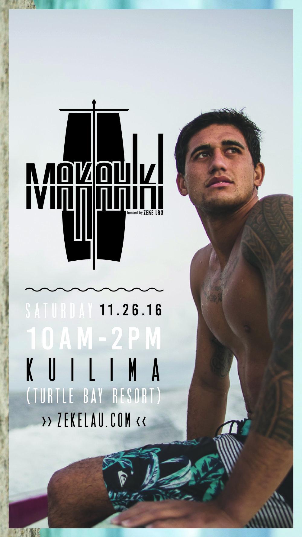 Makahiki 2016 Official Digital Flyer