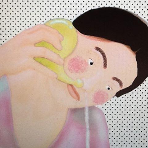 neti series 1 #netipot #nasalritual #selfcare #digitalart #illustration