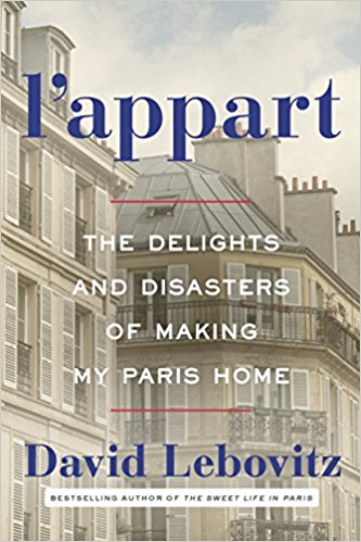 L'appart: The delights and disasters of making Paris my home; David Lebovitz   November 7th  Memoir  When I lived in Paris David's blog was a light in the dim fog of culture shock. After I moved back his book,  The Sweet Life in Paris,  was a nostalgic gem that I read as I mourned no longer living in Paris. Now, I live vicariously though his snapchat story daily. So obviously I am beyond excited for another book from him, and especially one that gives an intimate look into the journey of an American establishing their life in Paris.