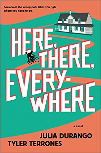 Here, There, Everywhere; Julia Durango and Tyler Terrones   December 19th  Young Adult Contemporary  A love story between two resetless teens dreaming of leaving their small town. The house on the cover has a very green gables vibe, and the premise sounds fun.