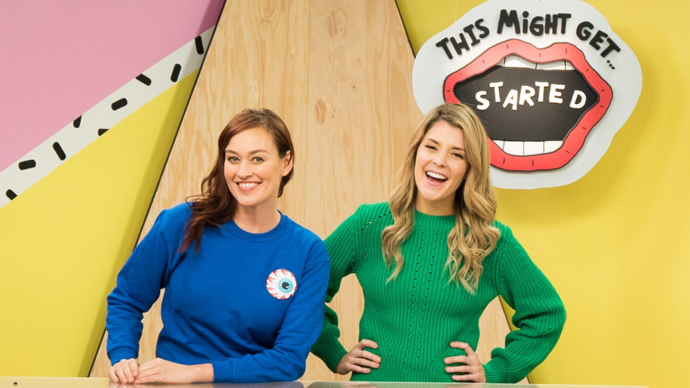 Watch Mamrie's Daily Youtube Show, This Might Get, Co-Hosted with her BFF Grace Helbig.