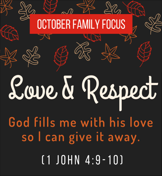 """Without love, our faith becomes futile. This environment recognizes that children need an environment of love and respect in order to be free to both receive and give God's grace. Innate to this environment is the value that children are respected because they embody the image of God. We must speak to them, not at them, and we must commit to an environment where love and acceptance are never withheld due to one's behavior.    """"In this the love of God was made manifest among us, that God sent his only Son into the world, so that we might live through him. In this is love, not that we have loved God but that he loved us and sent his Son to be the propitiation for our sins."""" 1 John 4:9-10"""
