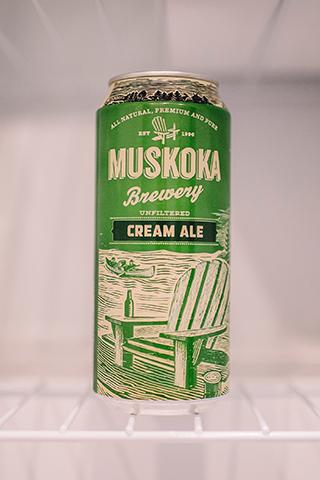 Image courtesy of Muskoka Brewery's Website