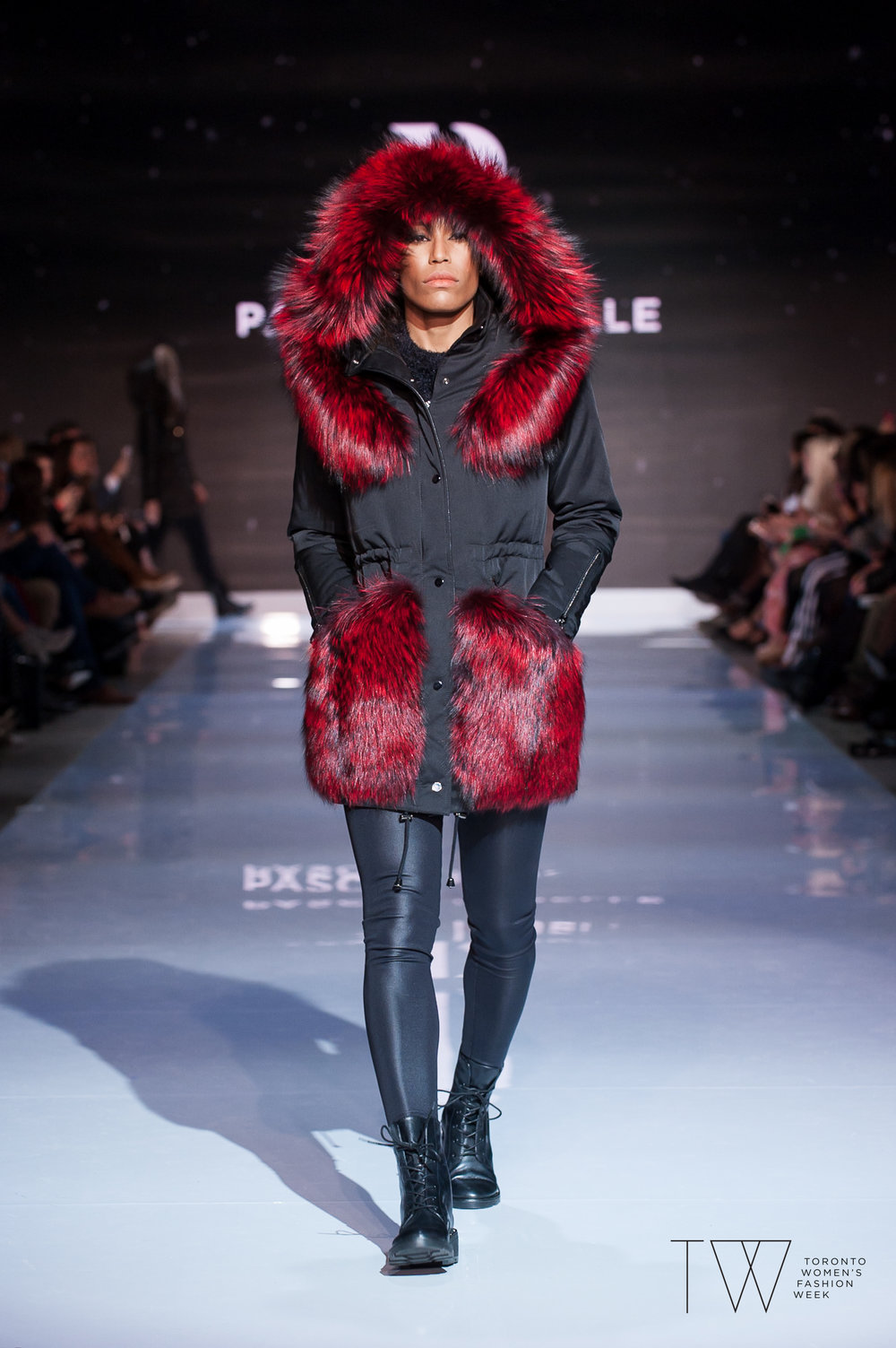 Pascal Labelle image courtesy of Toronto Women's Fashion Week