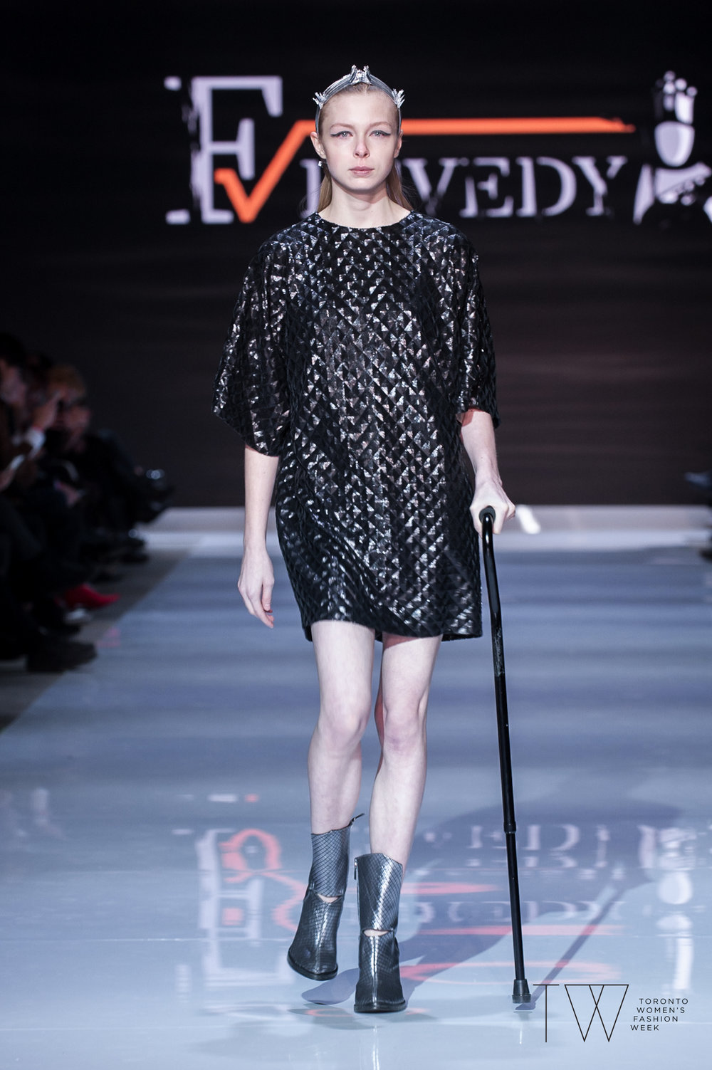 Fesvedy image courtesy of Toronto Women's Fashion Week