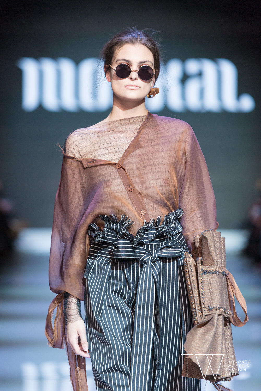 Moskal image courtesy of Toronto Women's Fashion Week