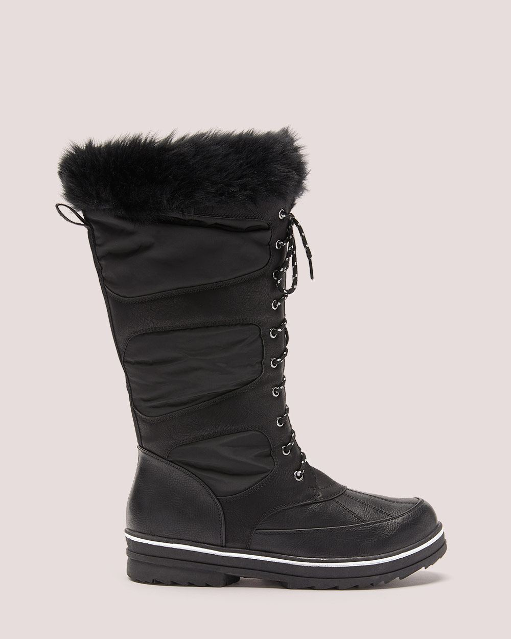Winter Boot with Faux-Fur - Addition Elle ($115 CAD)