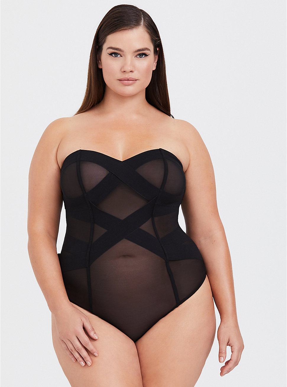 Strappy Mesh Bodysuit ($57 CAD)