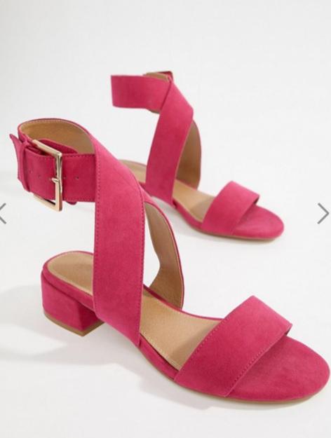 Asos -Wide FIt Sandals ($42 CAD)