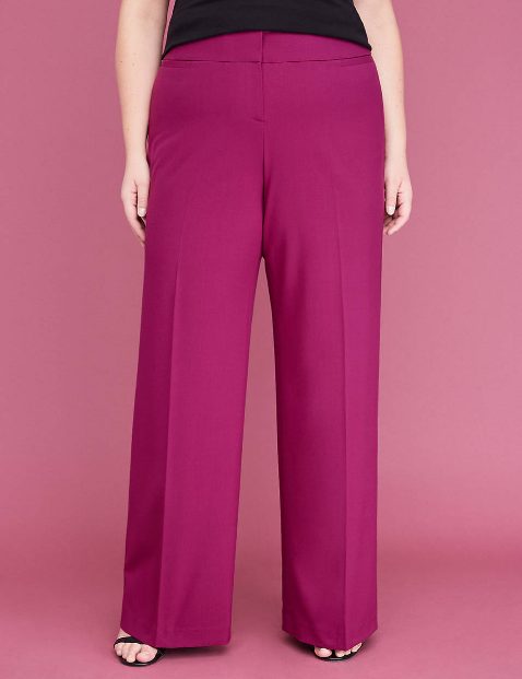 Lane Bryant - Allie Tailored Wide Leg Stretch Pant ($43 CAD)