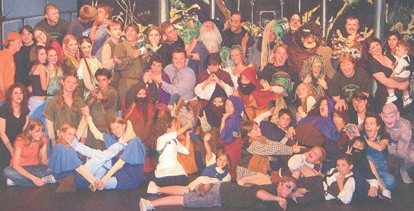 I've never been a tall person. I remember being SO excited that I was tall enough to be an elf in this production of The Hobbit. (If you can't  find me in the photo, just look for the shortest elf)