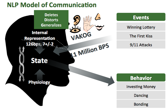 Figure 1 - NLP Model of Communication