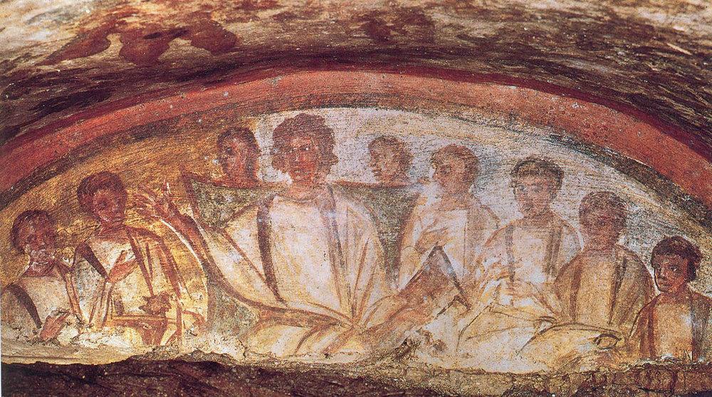 El ágape  formaba una parte muy importante del culto primitivo