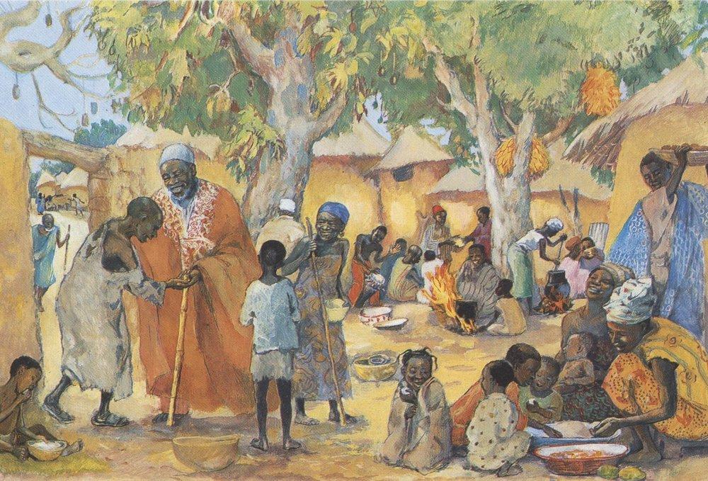 Los pobres son invitados al banquete de François Vidil y las comunidades cristianas Mafa