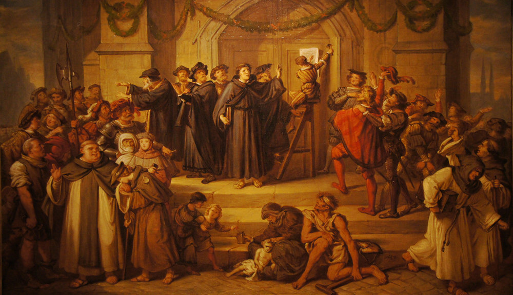 Lutero comparte sus 95 tesis en Wittenburg