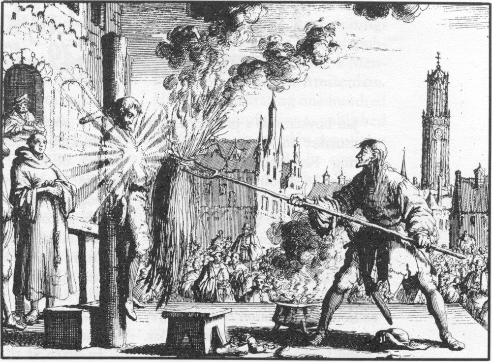Los reformadores radicales fueron perseguidos tanto por la iglesia católica como las iglesias protestantes apoyadas por el Estado