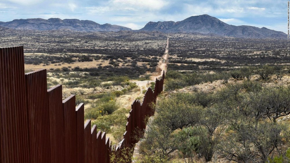 The US-Mexican Border. Source: CNN