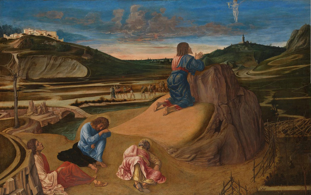 Agonía en el huerto, Giovanni Bellini