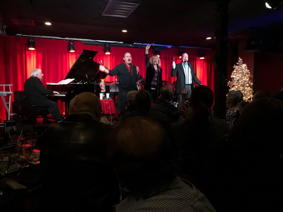 Ilene Graff, Todd Graff, Glenn Rosenblum with Ben Lanzarone on Piano.jpg