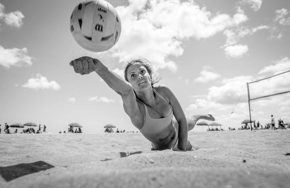 hawaii sand volleyball athletics waikiki