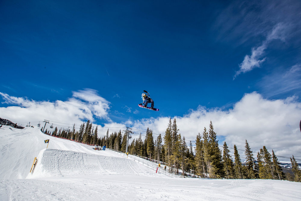 snowboard colorado big air
