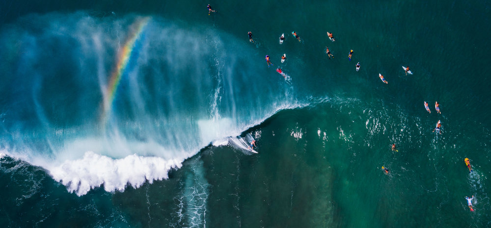 dji drone hawaii pipeline