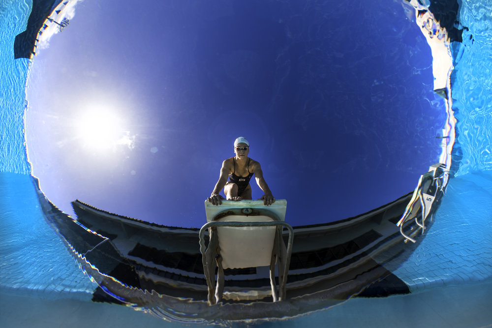 University of Hawaii Swimming Photography