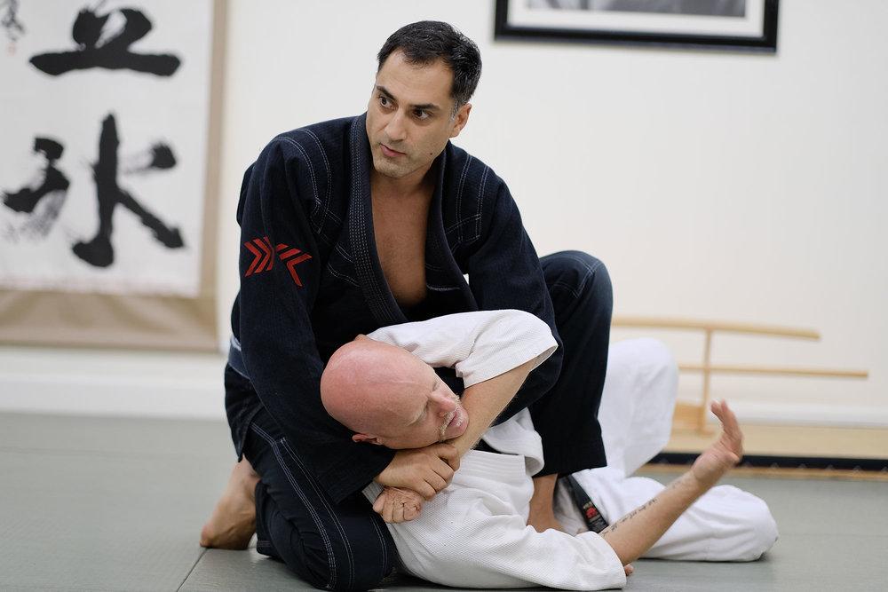 Prof. Roy Dean - Aikido Black Belt •Judo Black Belt •Brazillian Jiu-Jitsu Black Belt (3rd)