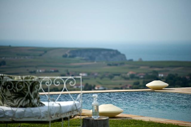 "The summer daze is upon us here at Private Parts. The 20 metre heated salt water swimming pool beckons both the ""wet bobs and dry bobs"" with the dizzying fresh air and those views of the bay of Biscay.  #luxury #cantabria #santander #views #swim #summer #spain"