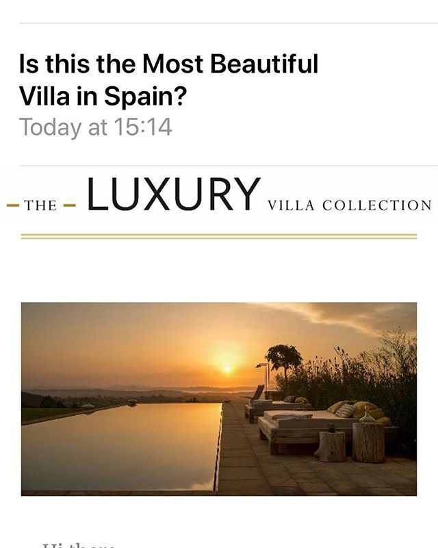 What sheer flattery from the Luxury Villa Collection! ❤️ And the long Indian summer continues.....embrace the change! #luxury #luxuryvilla #summer2019 #longindiansummer #spain #cantabria #embrace #change @theluxuryvillaco