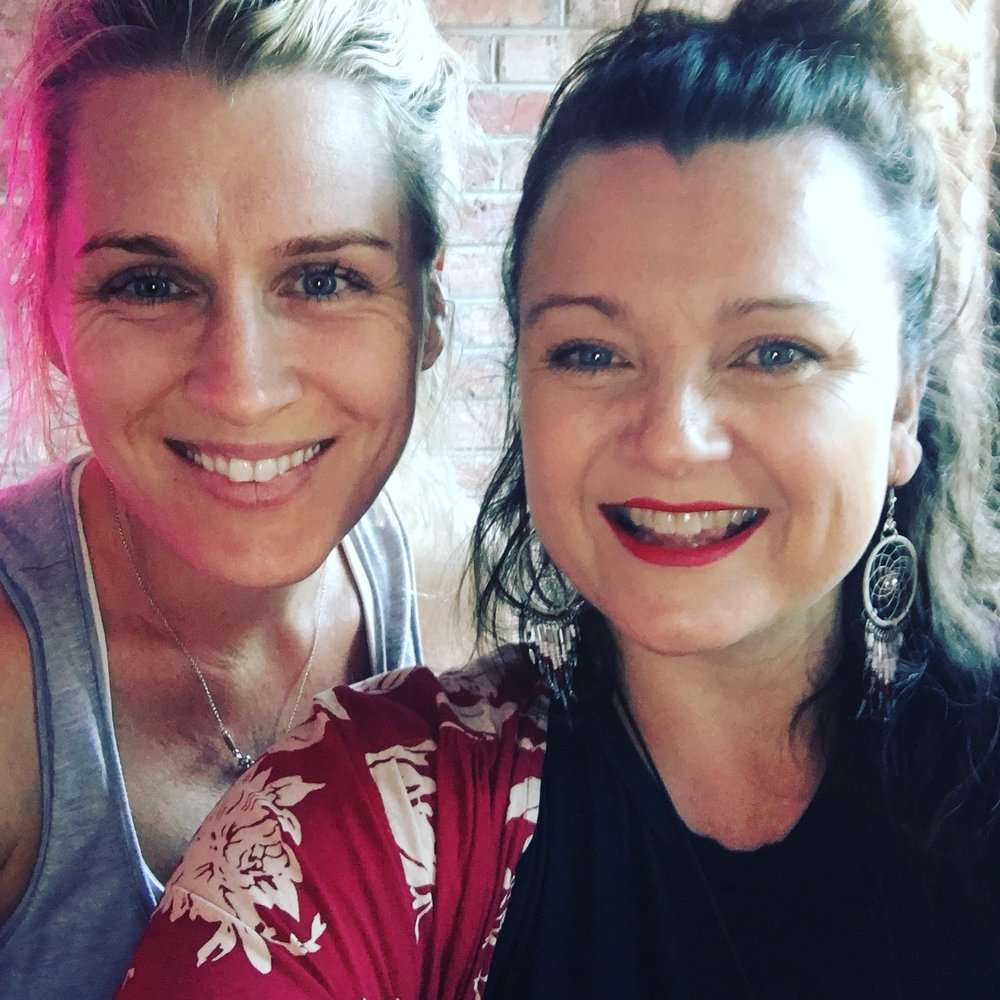 Teaming up with my dear friend at her home studio - 'Baby's Corner' has become a special experience for us to share in bringing a community of gorgeous women together for the  monthly aromaZen Full Moon experience .
