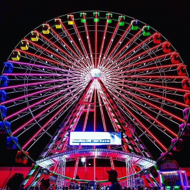 @rottenart  All Seeing Sky Eye 2018  #illuminati #okstatefair #skyeye #art #photo #formalism #found #color #instagood #latergram #artistsoninstagram #rottenart