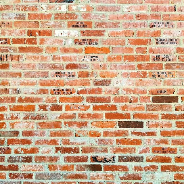 @rottenart  Recess (Detail) 2014  #art #sculpture #brick #stlouis #ferguson #racialjustice #resist #publicart #recess #gentrification #moundcity #artistsoninstagram #uncomfortable #rottenart  @laumeierstl