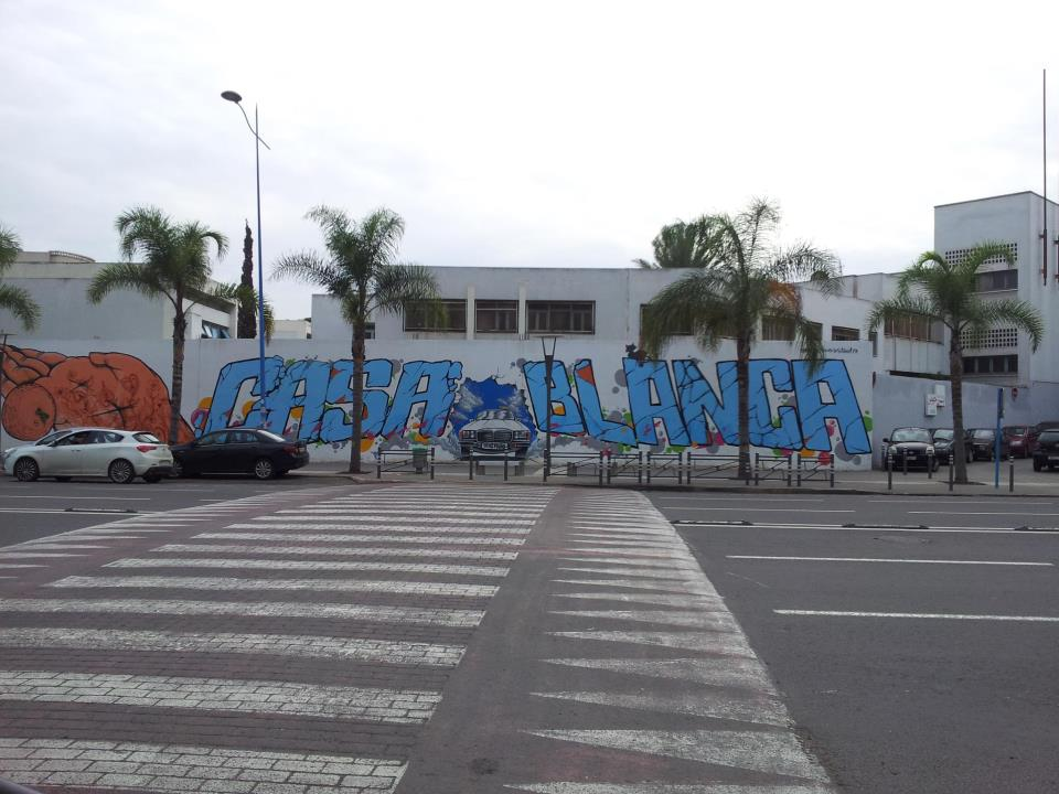casablanca graffitti
