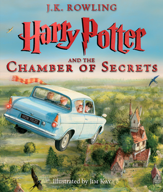 Illustrated Harry Potter cover