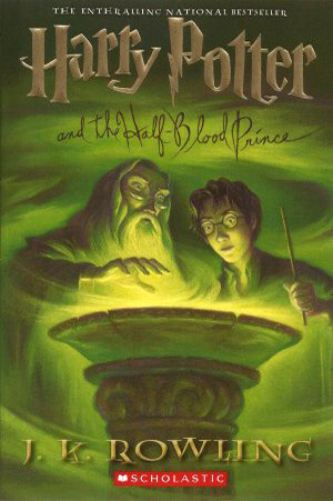 half blood prince cover