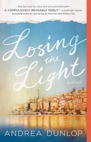 Losing the Light by Andrea Dunlop cover