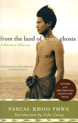 from the land of green ghosts cover