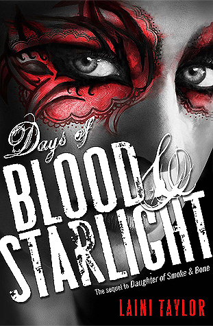 Days of Blood & Starlight  by Laini Taylor cover