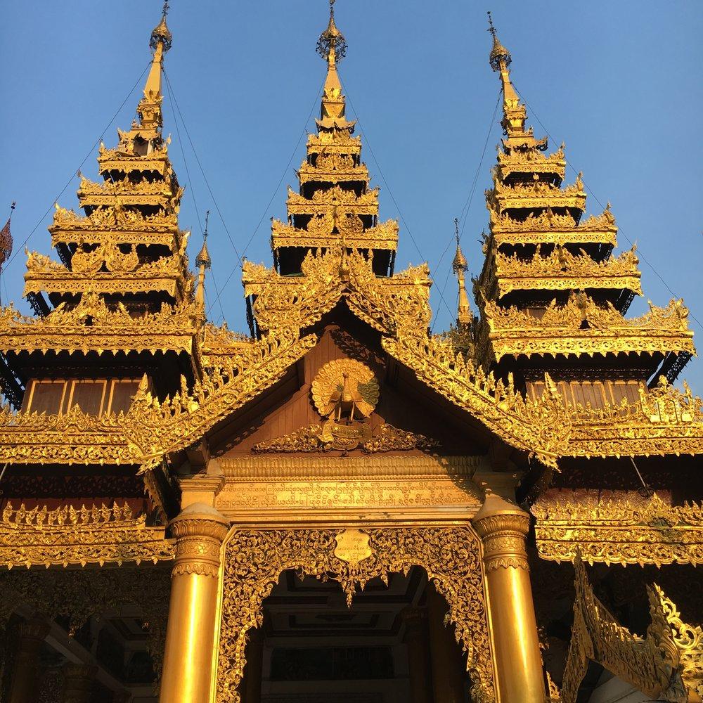 Myanmar Pagoda www.onemorestamp.com
